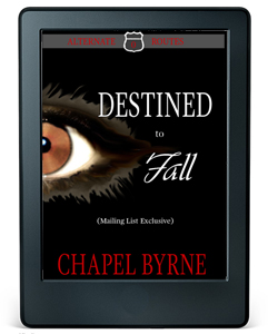 Black e-reader. Cover image for Alternate Routes 0: Destined to Fall